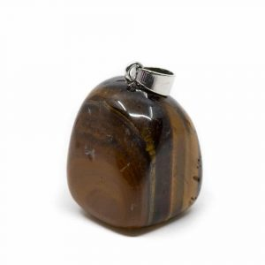 Tiger Eye Tumbled Stone Pendant