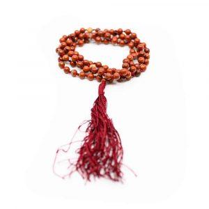 Gemstones Mala Red Jasper - 108 beads
