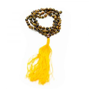 Gemstones Mala Tiger Eye - 108 beads