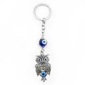 Keychain Protection Wise Owl