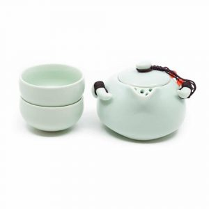 Traditional Chinese Tea Set Mint Green