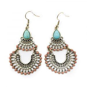 Bohemian Blue Stone Earrings