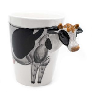 Cup Hand Painted Cow