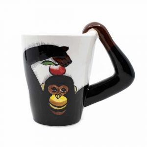 Cup Hand Painted Monkey