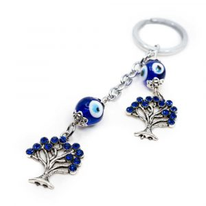 Keychain Protection Double Tree of Life