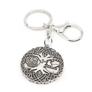 Keychain Norse Tree of Life - Yggdrasil