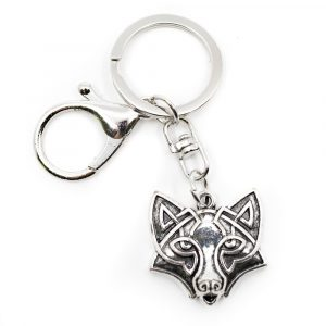 Keychain Protection Wolf