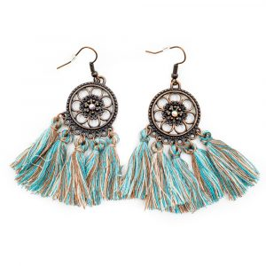 Bohemian Earrings with Antique Finish