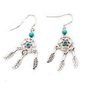 Bohemian Earrings Dreamcatcher