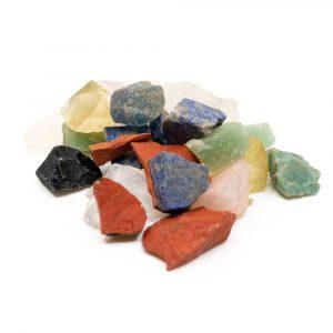 Rough Gemstone Mix (200 grams)