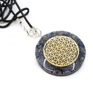 Orgon Pendant Flower of Life - Sodalite