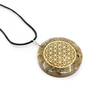Orgon Pendant Flower of Life - Labradorite