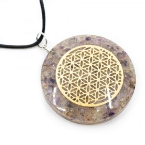 Orgon Pendant Flower of Life - Fluorite