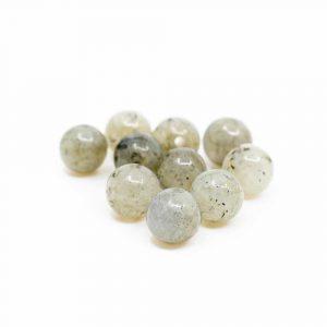 Gemstone Loose Beads Spectrolite - 10 pieces (6 mm)
