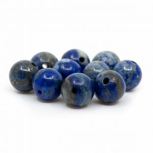 Gemstone Loose Beads Lapis Lazuli - 10 pieces (8 mm)