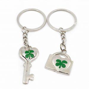 Keychain Four-leaf Clover Friendship