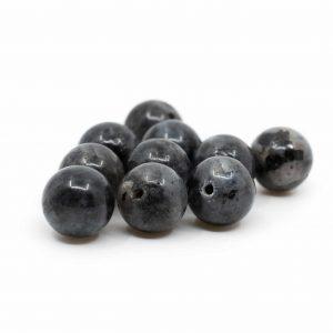 Gemstone Loose Beads Labradorite - 10 pieces (10 mm)
