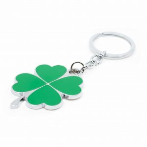 Keychain Four-leaf Clover Metal