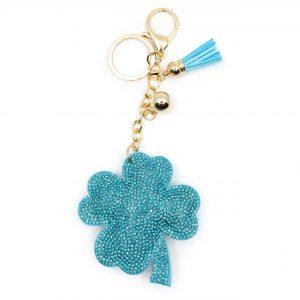 Keychain Four-leaf Clover Felt