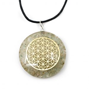 Orgon Pendant Flower of Life - Green Aventurine