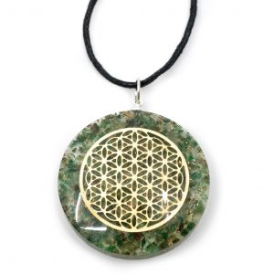 Orgon Pendant Flower of Life - Jade
