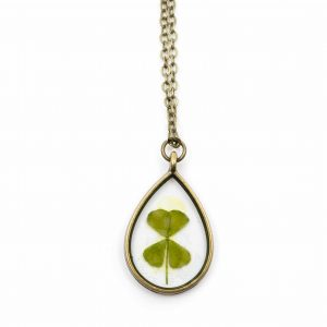 Pendant Four-leaf Clover Drop
