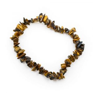 Gemstone Chip Bracelet Tiger Eye (19 cm)