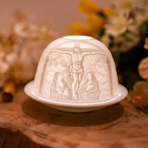 Porcelain Mood Light Jesus on the Cross