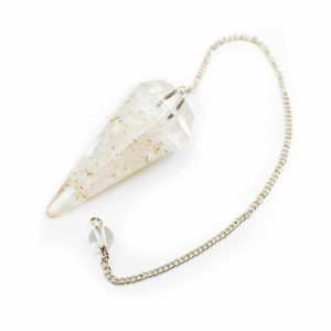 Pendulum Orgone - Selenite