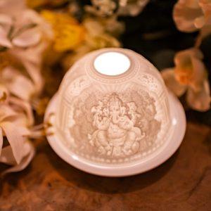 Porcelain Mood Light Ganesha