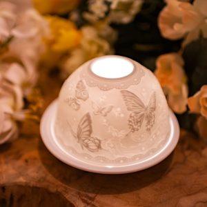 Porcelain Mood Light Butterflies