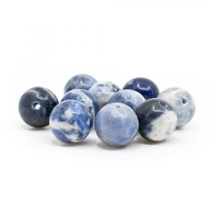 Gemstone Loose Beads Sodalite - 10 pieces (10 mm)