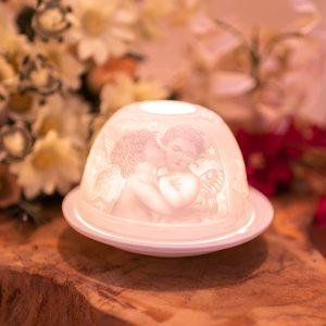 Porcelain Mood Light- Angels Kiss