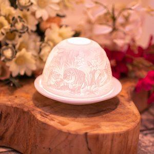 Porcelain Mood Light Tigers
