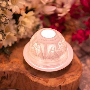 Porcelain Mood Light Jesus Last Supper