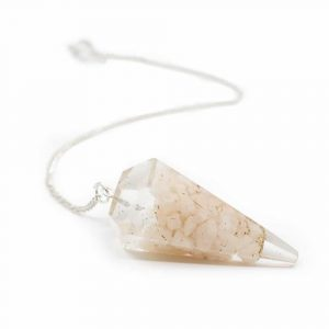 Pendulum Orgon - Peach Moonstone