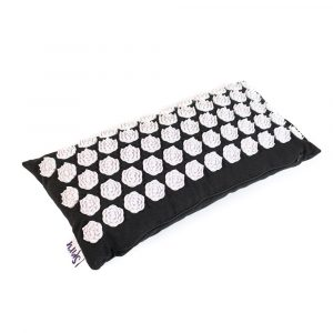 Acupressure Shakti Cushion Lotus Black