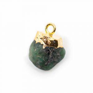 Birthstone Pendant May Emerald (10 mm)