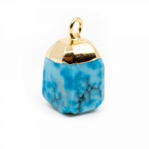 Birthstone Pendant December Turquoise (10 mm)