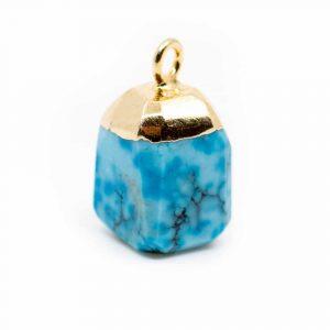 Birthstone Pendant December Turquoise (10 mm)