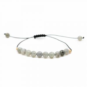 Gemstone Bracelet Labradorite Adjustable