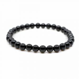 Gemstone Bracelet Black Tourmaline (6 mm Beads)