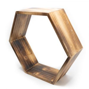 Wooden Zen Altar Honeycomb