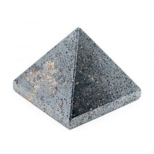 Pyramid Gemstone Hematite (25 mm)
