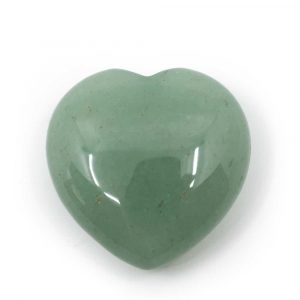 Gemstones Heart Green Aventurine (30 mm)