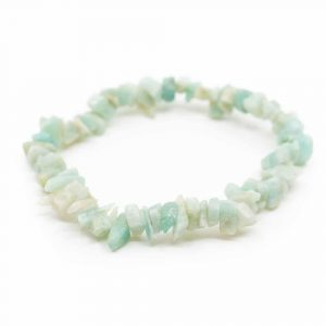Gemstone Chip Bracelet Amazonite