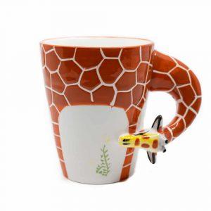 Cup Hand Painted Giraffe