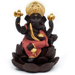 Backflow & Waterfall Incense Burner Ganesha