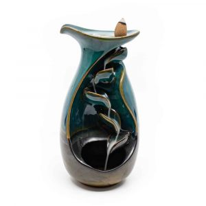 Backflow Incense Waterfall Porcelain - Vase