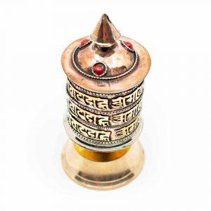 "Prayer Wheel ""Om Mani Padme Hum"" Table Model"